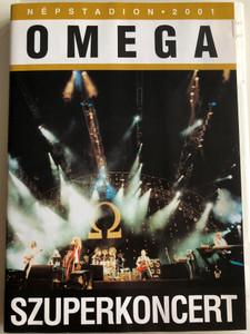 Omega Szuperkoncert DVD 2001 / Népstadion 2001 / Mega MDVD 87644 / Live recording from 2001 / Benkő László, Debreczeni Ferenc, Kóbor János, Mihály Tamás, Molnár György, Gömöri Zsolt, Szerekes Tamás, Demeter György, Vértes Attila (5998318764453)