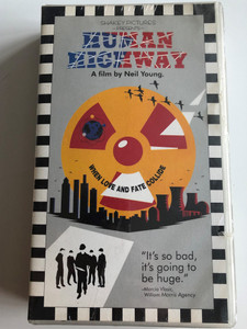 Human Highway VHS 1982 / A film by Neil Young / Directed by Bernard Shakey, Dean Stockwell / Starring: Russell Tamblyn, Dean Stockwell, Devo, Neil Yound, Dennis Hopper, Sally Kirkland (075993841732)
