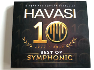 Havasi (Havasi Balázs) - 10 Year Anniversary 2009-2019 Best of Symphonic 2CD / Collector's Edition (5999566120176)