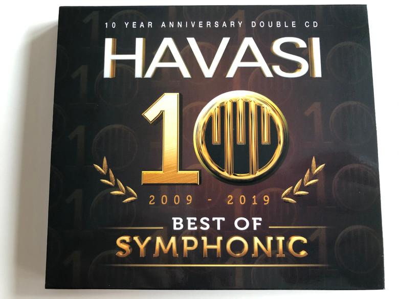 Havasi (Havasi Balázs) - 10 Year Anniversary 2009-2019 Best of Symphonic 2CD / Collector's Edition (5999566120176)