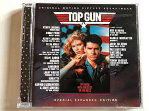 Original Motion Picture Soundtrack - Top Gun / Special Expanded Edition / Kenny Loggins: Danger Zone, Cheap Trick: Mighty Wings, Kenny Loggins: Playing With The Boys, Teena Marie: Lead Me On... / Columbia ‎Audio CD 1999 / CK 65554