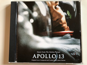 Music From The Motion Picture - Apollo 13 / Original Score Composed by James Horner ‎/ MCA Soundtracks ‎Audio CD 1995 / MCD 11241