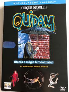 Quidam - Cirque du Soleil DVD / Directed by Benoit Jutras / Utazás a mágia birodalmába! / Az amszterdami előadás felvétele / Amsterdam recording of stage show by Cirque du Soleil (5999010444285)