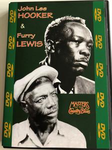 Masters of the Country Blues DVD 2002 John Lee Hooker & Furry Lewis / Boom boom, Furry's Blues, Kansas City, Kasie Jones / Black & White recordings / Shanachie Entertainment Corp. (016351051998)