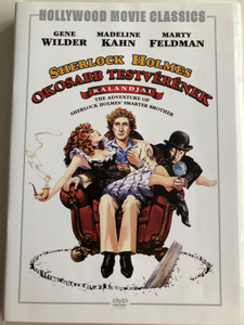 The Adventure of Sherlock Holmes' Smarter Brother DVD 1975 Sherlock Holmes Okosabb Testvérének kalandjai / Directed by Gene Wilder / Starring: Gene Wilder, Madeline Kahn, Marty Feldman (5999546334463)