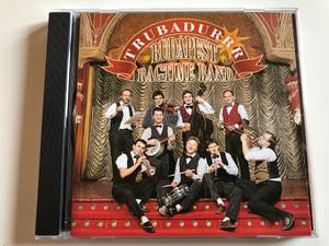 Trubadurrr - Budapest Ragtime Band / Audio CD 1996 Stereo / BRB CD005