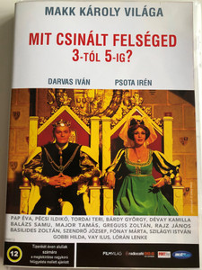 Mit csinált felséged 3-tól 5-ig? DVD 1964 What did thine Majesty do between 3 and 5? / Directed by Makk Károly / Starring. Darvas Iván, Psota Irén / Hungarian comedy film (5998133188335)