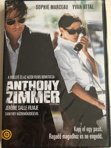 Anthony Zimmer DVD 2005 / Directed by Jérôme Salle / Starring: Sophie Marceau, Yvan Attal (5999075604969)
