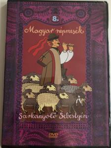 Magyar Népmesék 8. - Sárkányölő Sebestyén DVD 2009 - 2011 Hungarian Folk Tales for Children / Directed by Horváth Mária, Nagy Lajos / Read by Szabó Gyula / 13 episodes on disc (5999549905639)