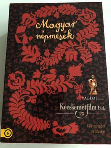 Magyar Népmesék DVD BOX Hungarian folk tales SET / 100 episodes on 8 DVDs / 100 epizód 8 dvd-n / Kecskemétfilm / Directed by Jankovics Marcell, Horváth Mária, Nagy Lajos (5999549906162)