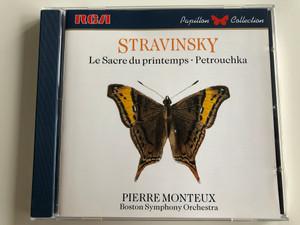Stravinsky – Le Sacre Du Printemps, Petrouchka / Pierre Monteux, Boston Symphony Orchestra / RCA Audio CD 1987 / GD86529