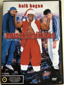 Santa with muscles DVD 1996 Muszklimikulás / Directed by John Murlowski / Starring: Hulk Hogan, Ed Begley, Jr. Don Stark, Robin Curtis, Kevin West (5999552130646)