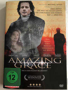 Amazing Grace DVD 2006 / Directed by Michael Apted / Starring: Ioan Gruffudd, Benedict Cumberbatch, Romola Garai, Albert Finney (4051238006117)