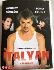 L'Italiano DVD Italyan (The Italian) / Directed by Ennio De Dominicis / Starring: Mehmet Günsür, Sonia Aquina, Luca Lionello, Julija Majarčuk (8697441015926)