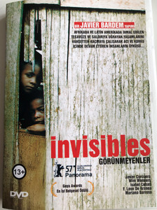 Invisibles DVD Görünmeyenler / Directed by Javier Corcuera, Wim Wenders, Isabel Coixet, F. Leon de Aranoa, Mariano Barroso / Story of African and Latin american violence victims (8697441019771)