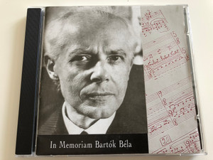 In Memoriam Bartók Béla / Sound Express ‎Audio CD 1995 / GCD-951