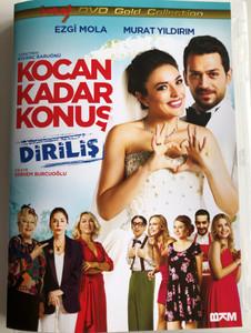 Kocan Kadar Konuş DVD 2015 Husband factor / Directed by Kivanç Baruönü / Starring: Ezgi Mola, Murat Yıldırım (8697762829219)