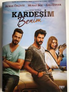 Kardeşim Benim DVD 2016 / Directed by Mert Baykal / Starring: Burak Özçivit, Murat Boz, Aslı Enver, Ahmet Gülhan, Burak Satıbol (8698907304141)