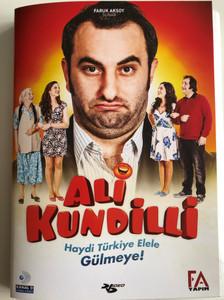 Ali Kundilli DVD 2015 / Directed by Bülent İşbilen / Starring: Cem Gelinoğlu, Zeynep Aktuğ, Sami Aksu, Ezgi Tombul (8697762828632)
