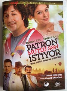 Patron Mutlu Son Istiyor DVD 2014 Boss Wants a Happy Ending / Directed by Kıvanç Baruönü / Starring: Tolga Çevik, Ezgi Mola, Murat Başoğlu, Ersin Korkut (8697428130406)
