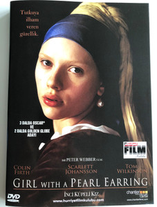 Girl with a Pearl Earring DVD Inci Küpeli Kiz / Directed by Peter Webber / Starring: Colin Firth, Scarlett Johansson, Tom Wilkinson (GirlWithPearlEarringDVD)