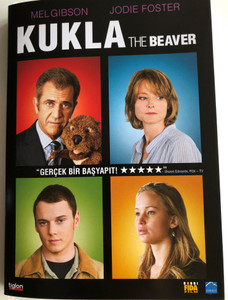 The Beaver DVD 2011 Kukla / Directed by Jodie Foster / Starring: Mel Gibson, Jodie Foster, Anton Yelchin, Jennifer Lawrence (8697333084023)
