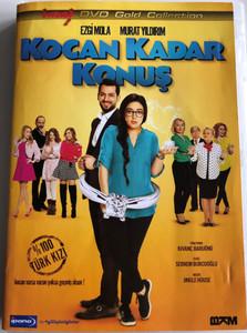 Kocan Kadar Konuş DVD 2015 Husband factor / Directed by Kivanç Baruönü / Starring: Ezgi Mola, Murat Yıldırım (8697762828663)