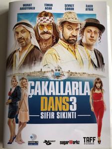 Çakallarla Dans 3: Sıfır Sıkıntı DVD 2014 Dance with the Jackals 3 / Directed by Murat Şeker / Starring: Murat Akkoyunlu, Timur Acar, Şevket Çoruh, İlker Ayrık (8697762828250)