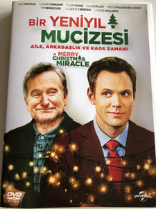 A Merry Christmas Miracle DVD 2014 Bir Yeniyil Mucizesi / Directed by Tristram Shapeero / Starring: Robin Williams, Pierce Gagnon, Bebe Wood, Ryan Lee (8698907807413)
