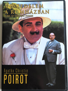Agatha Christie's Poirot: Peril at the End House DVD Veszedelem a Romházban / Directed by Clive Exton / Starring: David Suchet, Hugh Fraser, Philip Jackson, Pauline Moran (5999546331431)