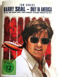 American made DVD 2017 Barry Seal - Only in America / Directed by Doug Liman / Starring: Tom Cruise, Domhnall Gleeson, Sarah Wright, Jesse Plemons (5053083138349)
