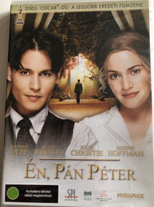 Finding Neverland DVD 2004 Én, Pán Péter / Directed by Marc Forster / Starring: Johnny Depp, Kate Winslet, Julie Christie, Dustin Hoffman (5999544151055)