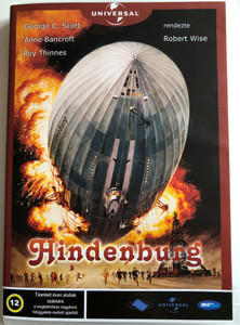 The Hindenburg DVD Hindenburg / Directed by Robert Wise / Starring: George C. Scott, Anne Bancroft, William Atherton (5998133197030.)
