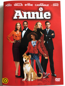 Annie DVD 2014 / Directed by Will Gluck / Starring: Quvenzhané Wallis, Jamie Foxx, Rose Byrne, Bobby Cannavale, Cameron Diaz (5948221491038)