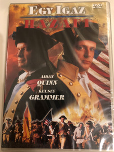 Benedict Arnold: A Question of Honor DVD 2003 Egy Igaz Hazafi / Directed by Mikael Salomon / Starring: Aidan Quinn, Kelsey Grammer, Flora Montgomery, John Light (5998329508008.)