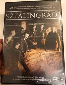 Stalingrad DVD Sztálingrád / Documentary trilogy / 3 episodes / Never before seen footages from Russian archives (5999543814234)