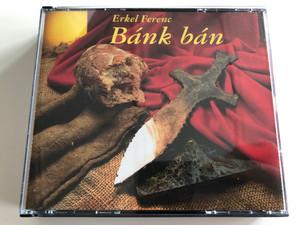 Erkel Ferenc – Bánk Bán / MKB (Hungary) 2x Audio CD 1993 Mono / MKB 0004