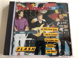 The Equals ‎– Greatest Hits / Baby Come Back, I Get So Excite, Viva Bobby Joe, Domino, and others / Flash Audio CD Stereo / 8353-2