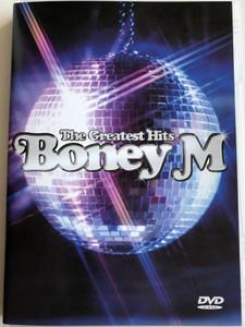 Boney M The Greatest Hits DVD 2001 / Rivers of Babylon, Daddy cool, Rasputin, No Woman No Cry / BMG International (743218790393)