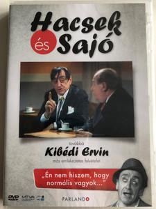 Hacsek és Sajó DVD és Kibédi Ervin más emlékezetes felvételei / Hungarian Comedy film clips / Parlando kiadó (5999884469049)