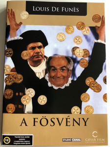 L' Avare DVD 1980 A Fösvény (The Miser) / Directed by Louis de Funès, Jean Girault / Starring: Louis de Funès, Frank David, Hervé Bellon (5999554700250.)