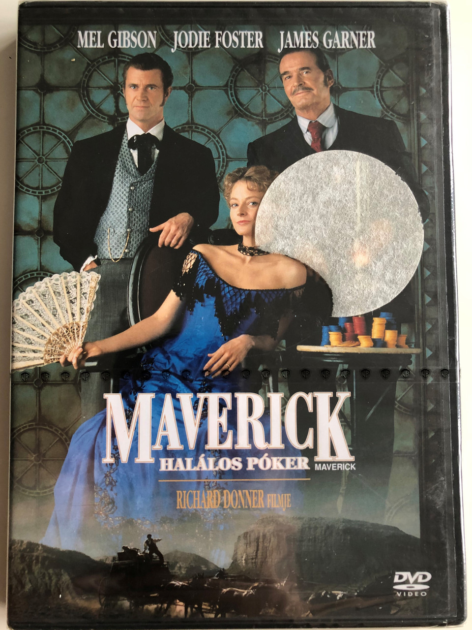 Maverick Dvd 1994 Maverick Halalos Poker Directed By Richard Donner Starring Mel Gibson Jodie Foster James Garner Graham Greene Bibleinmylanguage