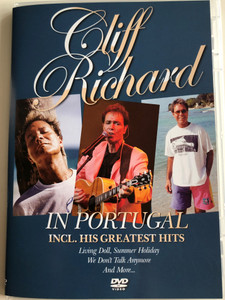 Cliff Richard in Portugal DVD 2005 / Including his greatest hits / Living Doll, Summer Holiday, We Don't Talk Anymore and more... / Zyx music (090204828357)