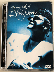 The Very Best of Elton John DVD 1990 / Your Song, Don't go breaking my heart, Blue Eyes, I'm Still Standing, Sacrifice (044007803325)