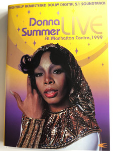 Donna Summer LIVE DVD 2004 Live at Manhattan Centre 1999 / Directed by Michael Chloe / Digitally Remastered 5.1 Soundtrack / ILC Music (5034741243612)