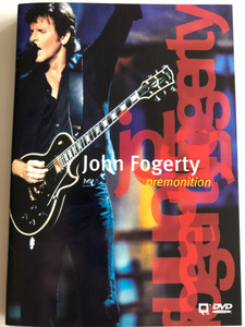John Fogerty - Premonition DVD 1999 / Directed by Jim Gable / Filmed live in 1997 / Susie Q, A Hundred and Ten in the Sade, Joy of my Life, Bad Moon Rising / Warner Music (075993849622)