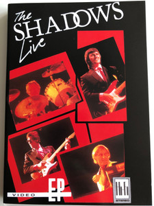 The Shadows LIVE VHS 2000 / Recorded at National Exhibition Centre Birmingham / Shadoogie, Time is Tight, Theme from the Deerhunter / EMI Records (724348123299)