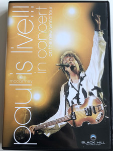 Paul McCartney is Live!!! DVD 2003 In concert On the New World Tour / All my loving, Hope of Deliverance, Lady madonna, penny lane / Black Hill pictures (828765349697)