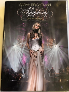 Sarah Brightman Symphony DVD 2009 Live in Vienna / Produced by Frank Peterson / Pie Jesu, Canto Della Terra, Storia D'Amore, Time to Say Goodbye (5099969553493)