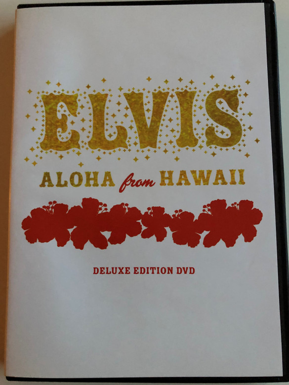 Elvis - Aloha from Hawaii / Deluxe Edition DVD 2004 / 2x DVD Set / BMG / Over 4 hours of video / Elvis Presley previously unseen material (828766092592)
